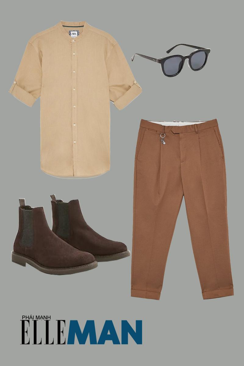 quần lưng cao - outfit 5