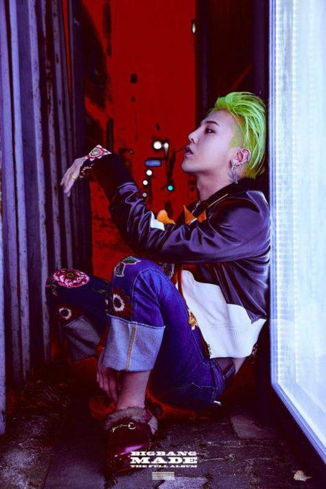 Nam ca sĩ cung Sư Tử G-Dragon