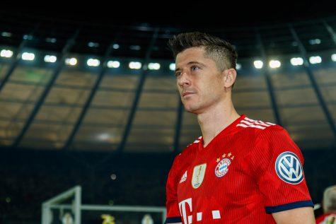 Robert Lewandowski trong màu áo Bayern Munich