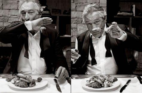 tài tử Robert De Niro trên tạp chí DuJour