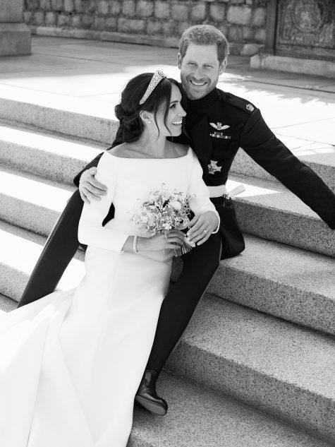 công nương Meghan Markle cùng chồng vương tử Harry