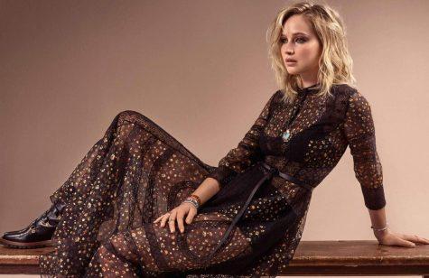 diễn viên Jennifer Lawrence ELLE