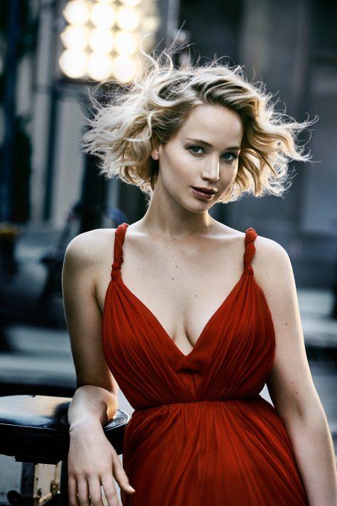 nữ diễn viên Jennifer Lawrence
