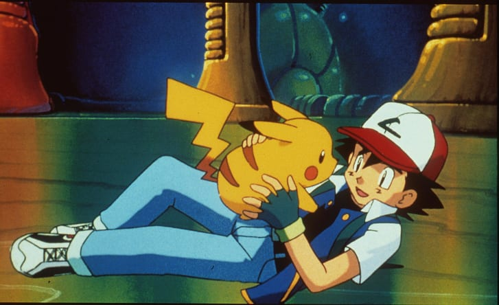 "hoạt hình anime elle man ""Pokemon: The First Movie"" (1999)"