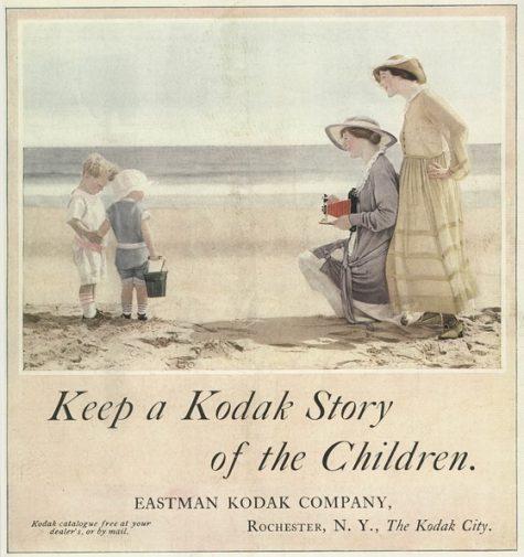 Poster quảng cáo của công ty Kodak