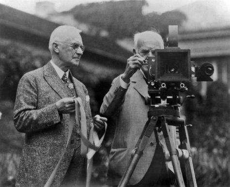 hình ảnh Eastman Kodak và Thomas Edison