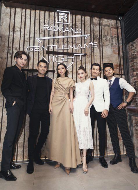 su kien Romano Gentleman Night - Tu Hao, fung La, Truong Thanh Long, Dustin - elle man 1