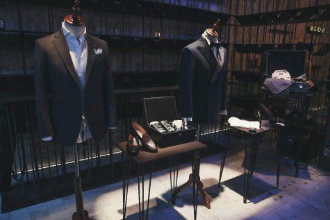 su kien Romano Gentleman Night - khu vuc trung bay do suit Sir tailor - elle man 1