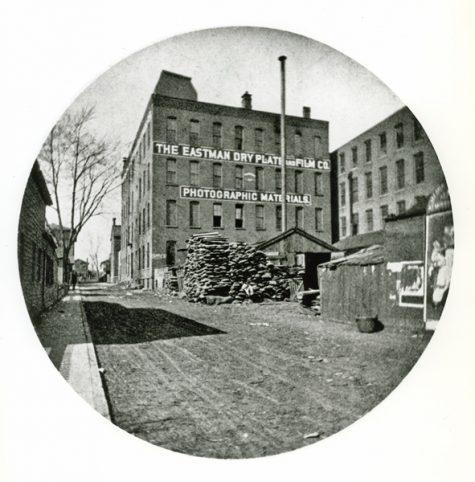 trụ sở chính của công ty logo thương hiệu Kodak