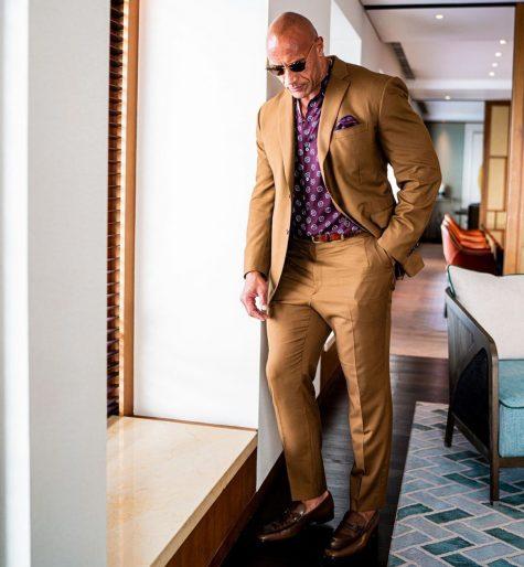 The Rock - sao nam mặc đẹp tuần 2 tháng 8_2019