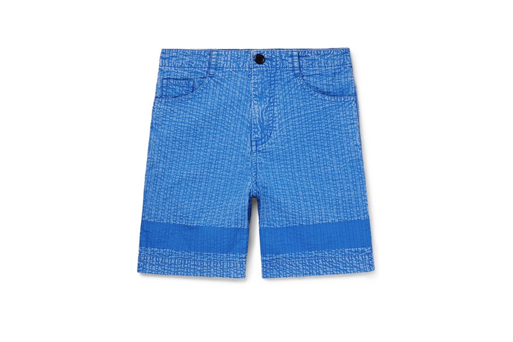 Quần short nam ELLE Man Craig Green acid washed cotton shorts