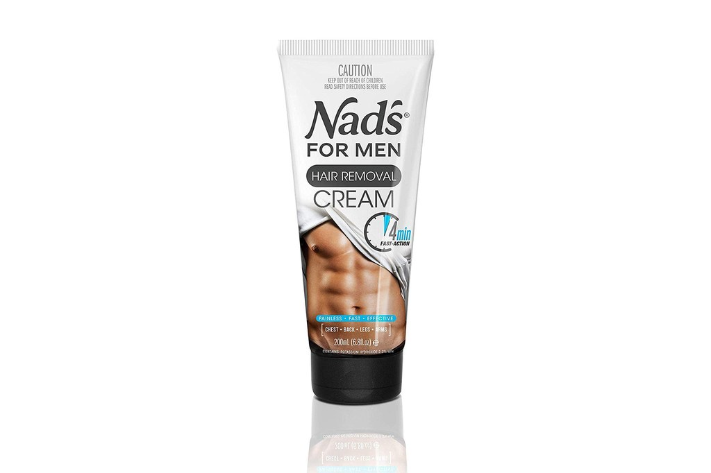 lông lưng elle man Nad's for Men body hair removal cream
