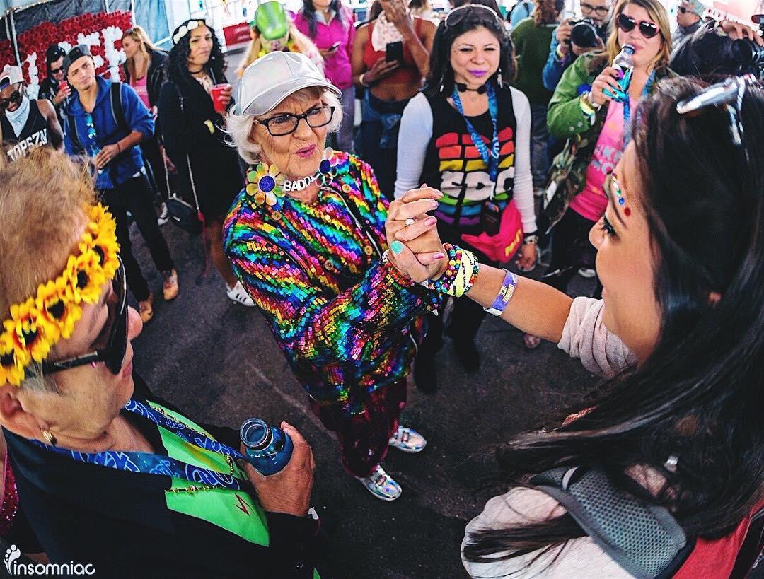biểu tượng thời trang 91 tuổi Baddiewinkle