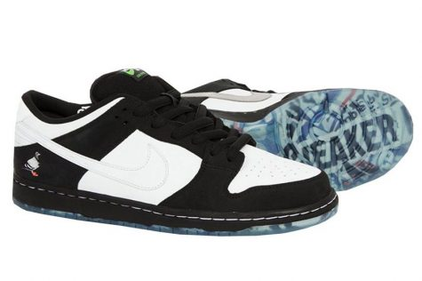 Giày Sneaker ELLE Man Nike x Staple Dunk Low 'Panda Pigeon'
