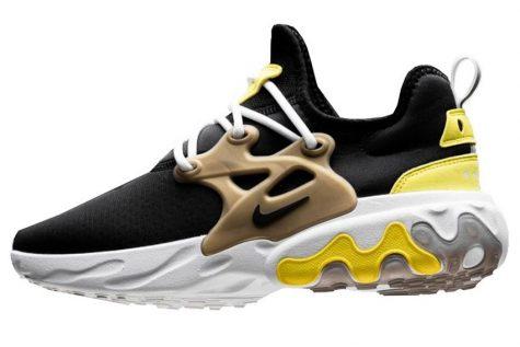 Giày thể thao đẹp ELLE Man Nike React Presto 'Brutal Honey'