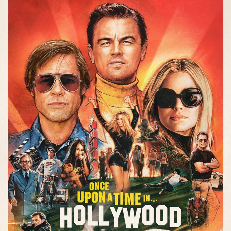 phim once upon a time in hollywood - elle man 1