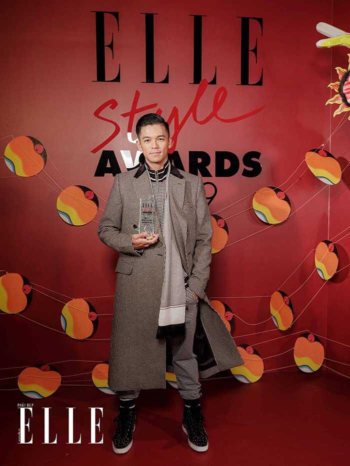 Trọng Hiếu ELLE Style Awards 2019