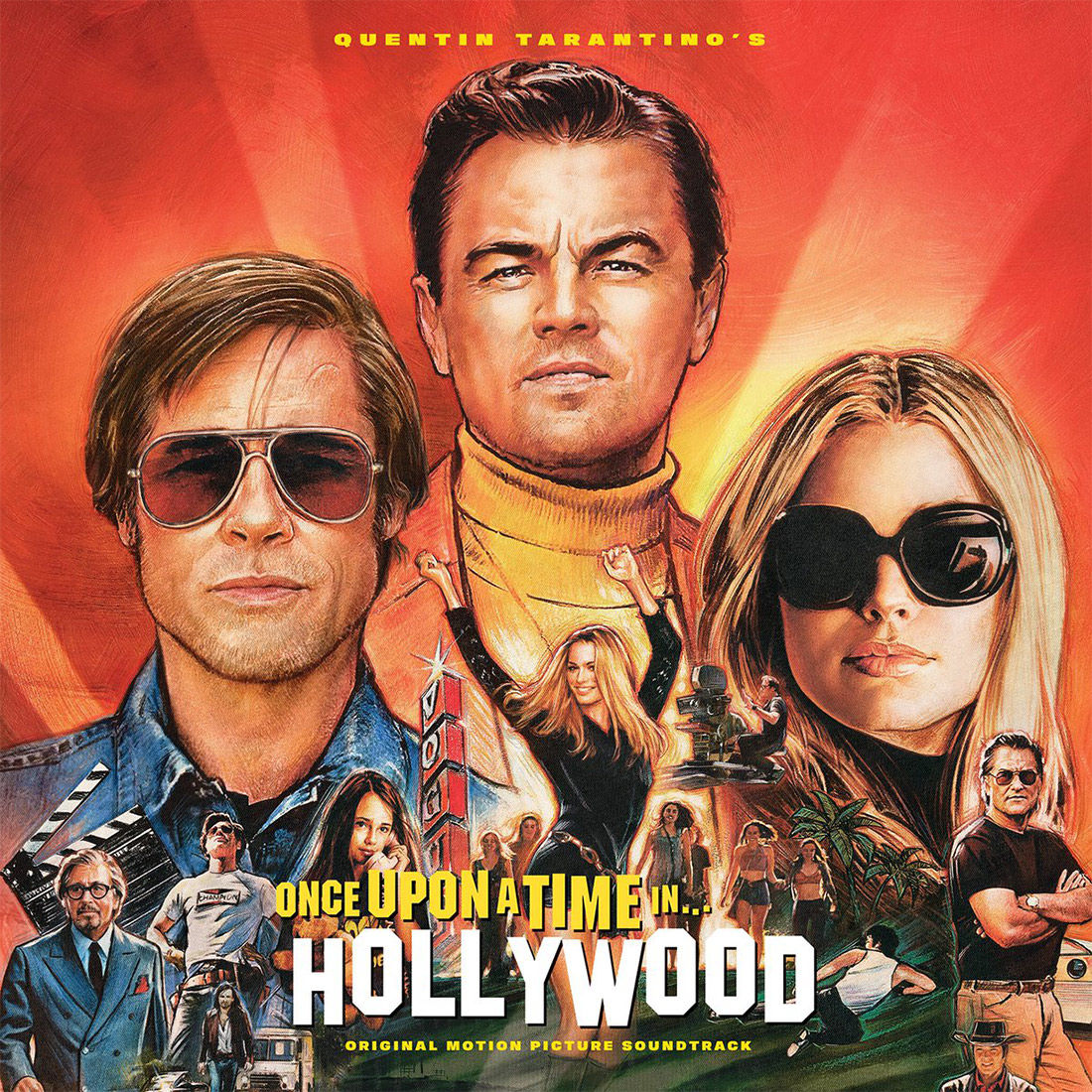 poster phim once upon a time in hollywood