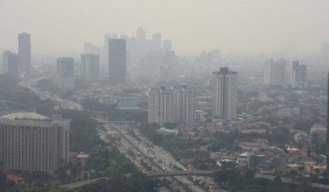 Thủ đô hiện tại của Indonesia, Jakarta, bị ô nhiễm. Ảnh: Reuters