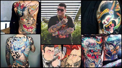 Davee Blows: Nghệ sĩ Tattoo kết hợp nghệ thuật hình xăm với Manga và Graffiti