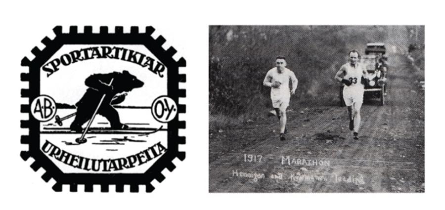 logo thương hiệu nguyên bản của karhu