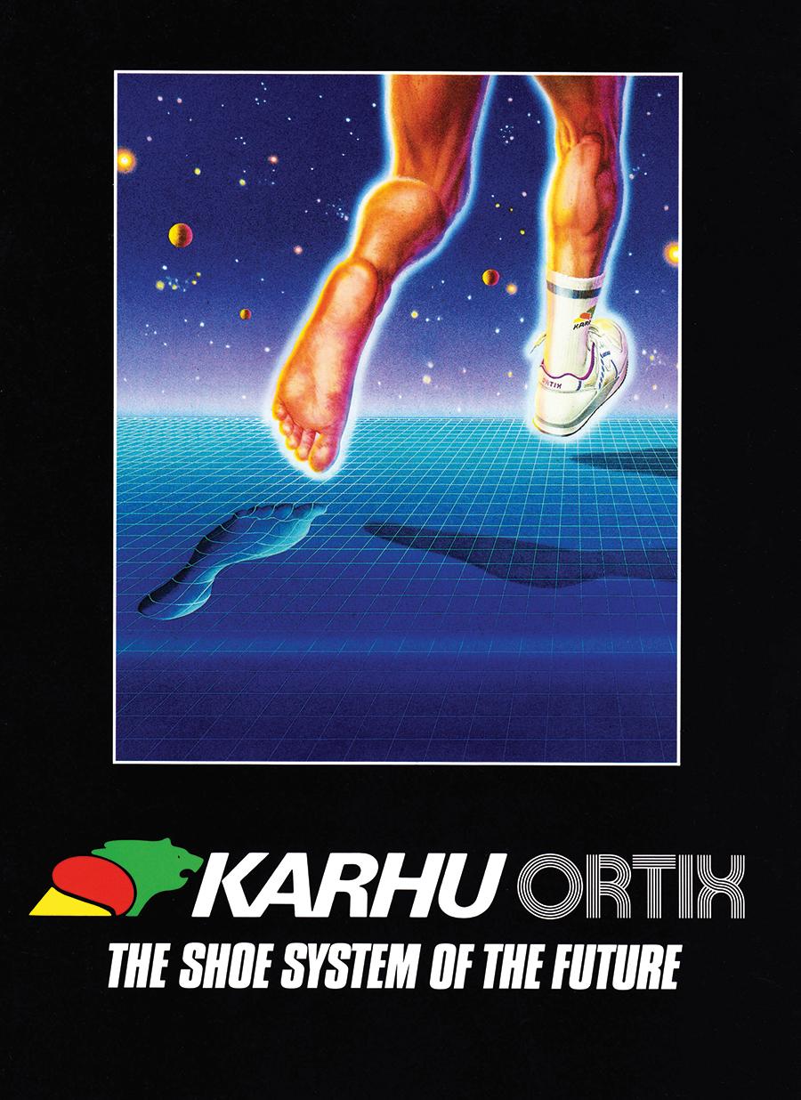logo thương hiệu quảng cáo giày karhu ortix