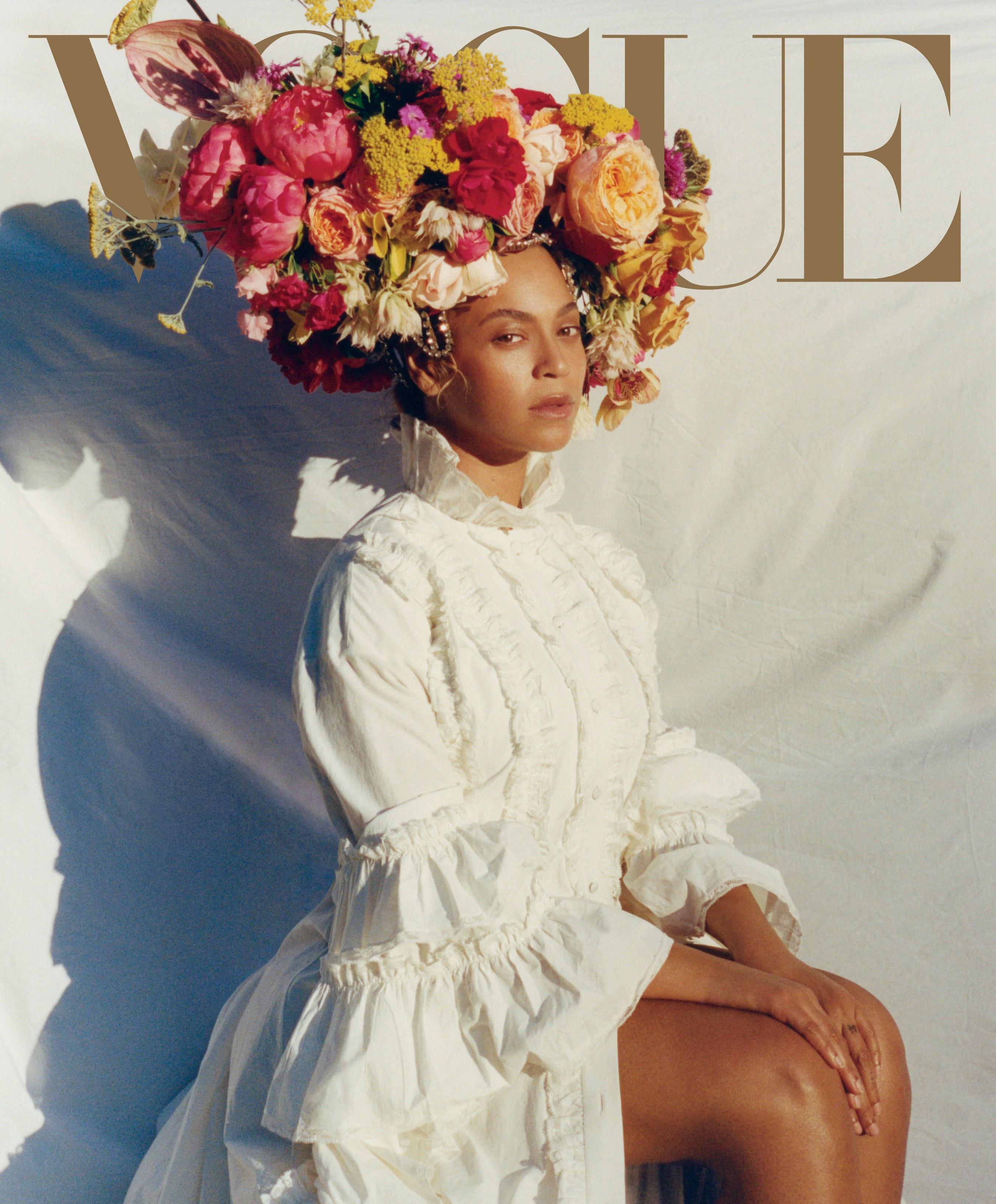 Ca sĩ Beyoncé trên bìa Vogue số tháng 9_2018