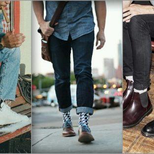 4 cách phối đồ cơ bản cần nhớ giữa tất và quần jeans