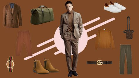 ELLE Man Style Calendar: Đón Thu với cách phối trang phục tông nâu đất
