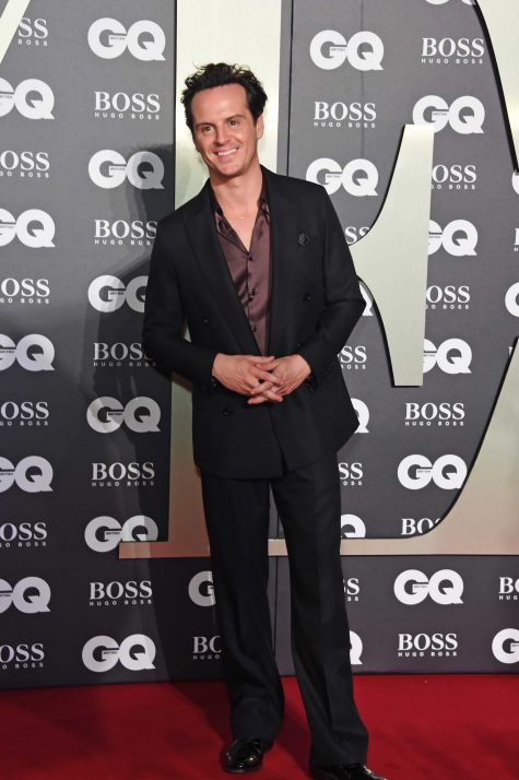 LONDON, ENGLAND - SEPTEMBER 03: Andrew Scott attends the the GQ Men Of The Year Awards 2019 in association with HUGO BOSS at the Tate Modern on September 3, 2019 in London, England. Pic Credit: Dave Benett