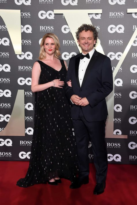 LONDON, ENGLAND - SEPTEMBER 03: Anna Lundberg and Michael Sheen attend GQ Men Of The Year Awards 2019 in association with HUGO BOSS at Tate Modern on September 03, 2019 in London, England. (Photo by David M. Benett/Dave Benett/Getty Images for Hugo Boss)