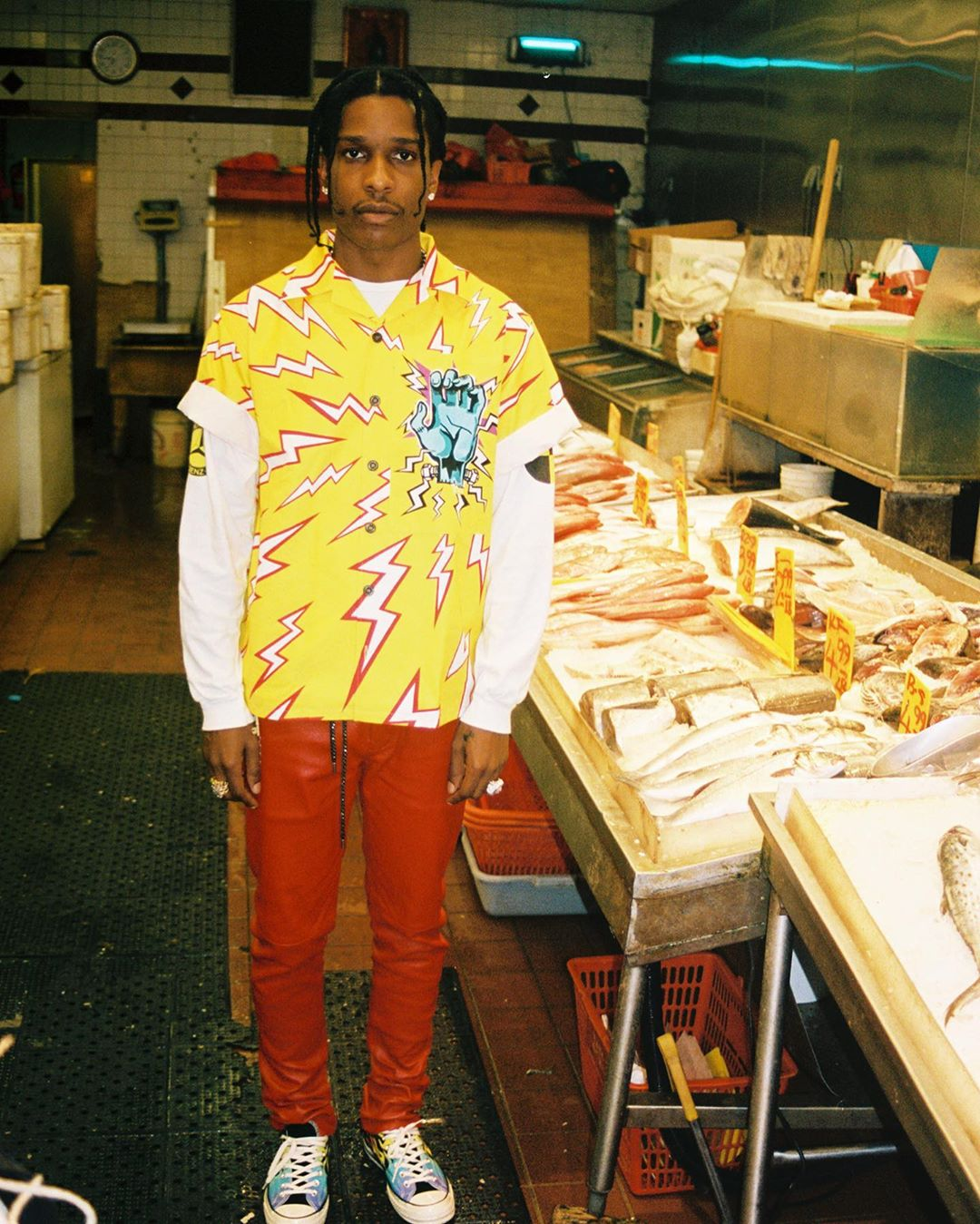 sao nam mặc đẹp tuần 2_9 ASAP Rocky