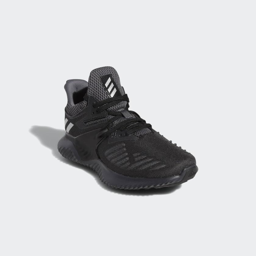 giày chạy màu đen - thương hiệu Adidas - giày thể thao - nam giới - elle man