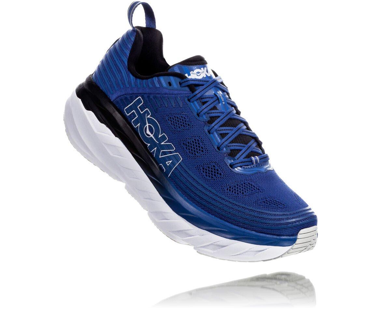 giày chạy - thương hiệu Hoka Bondi 6 - giày thể thao - nam giới - elle man
