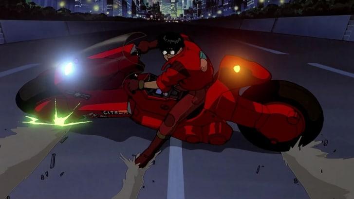 "hoạt hình anime elle man ""Akira"" (1988)"