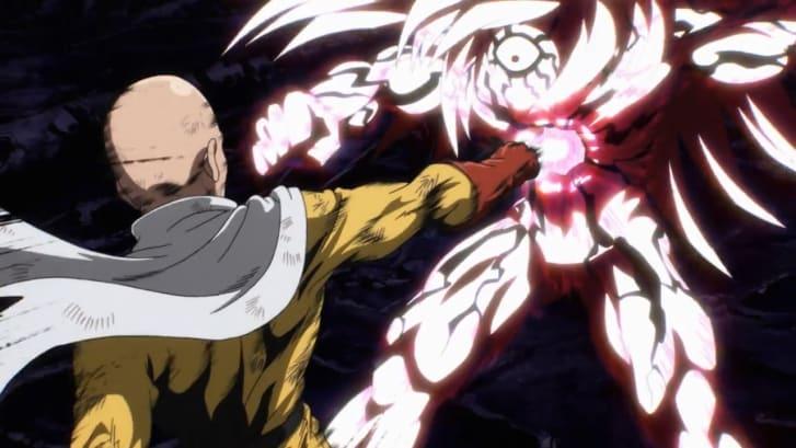 """hoạt hình anime elle man One Punch Man"""" (2015)"""