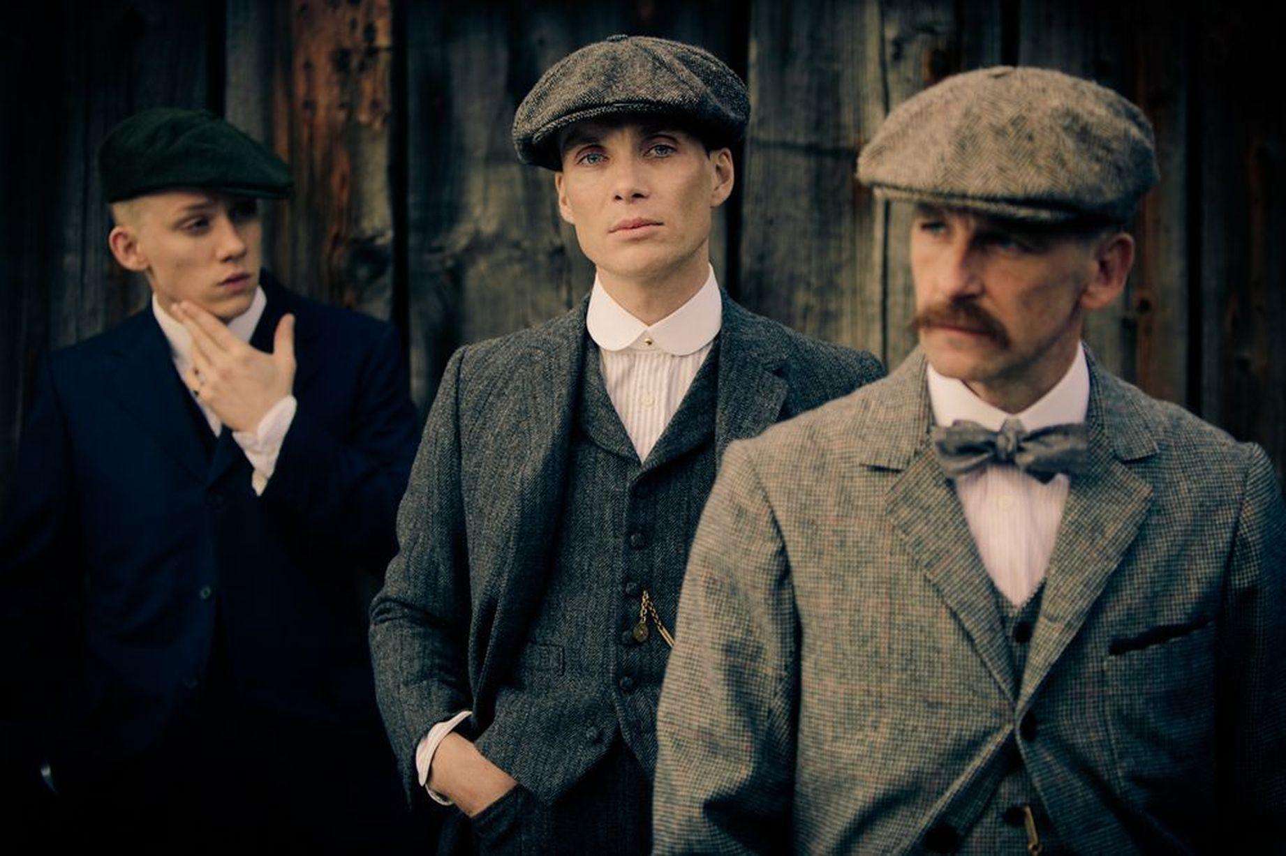 thời trang phim Peaky Blinder - mũ baker cổ điển