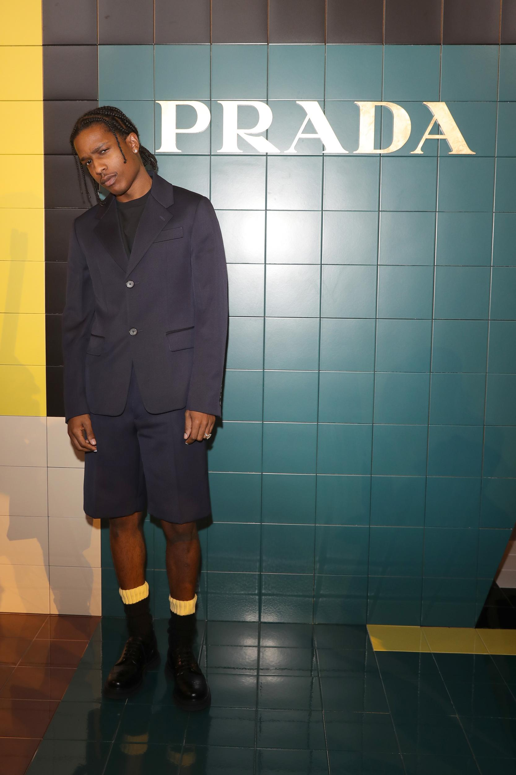 rapper ASAP Rocky - ELLE Man