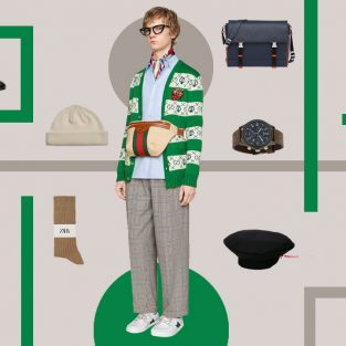 ELLE Man Style Calendar: Phong cách thời trang Geek chic cho trai ngoan