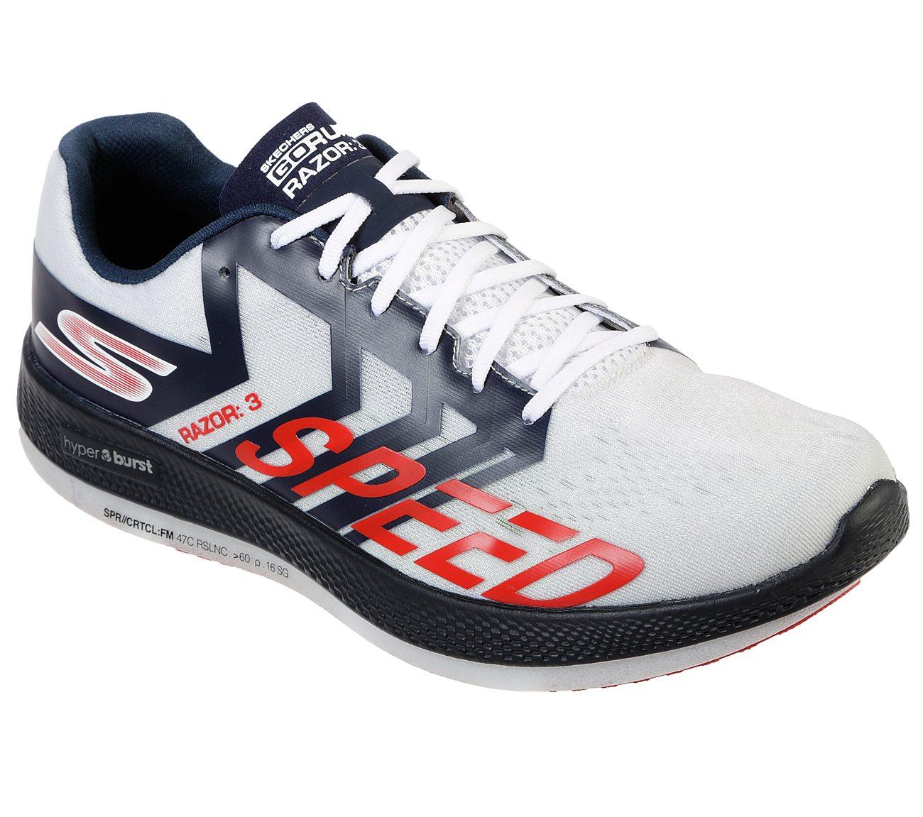 giày chạy - thương hiệu sketcher gorun razor 3 hyper - giày thể thao - nam giới - elle man
