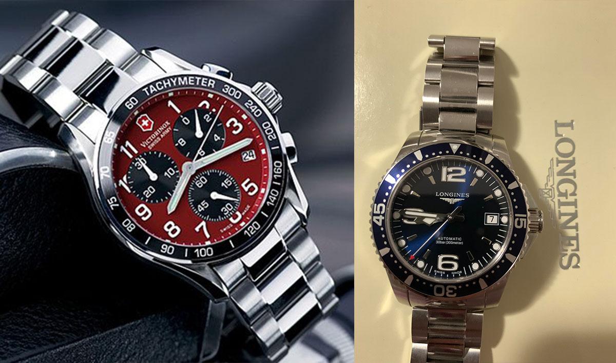 Đồng hồ đeo tay trên 6 triệu đồng