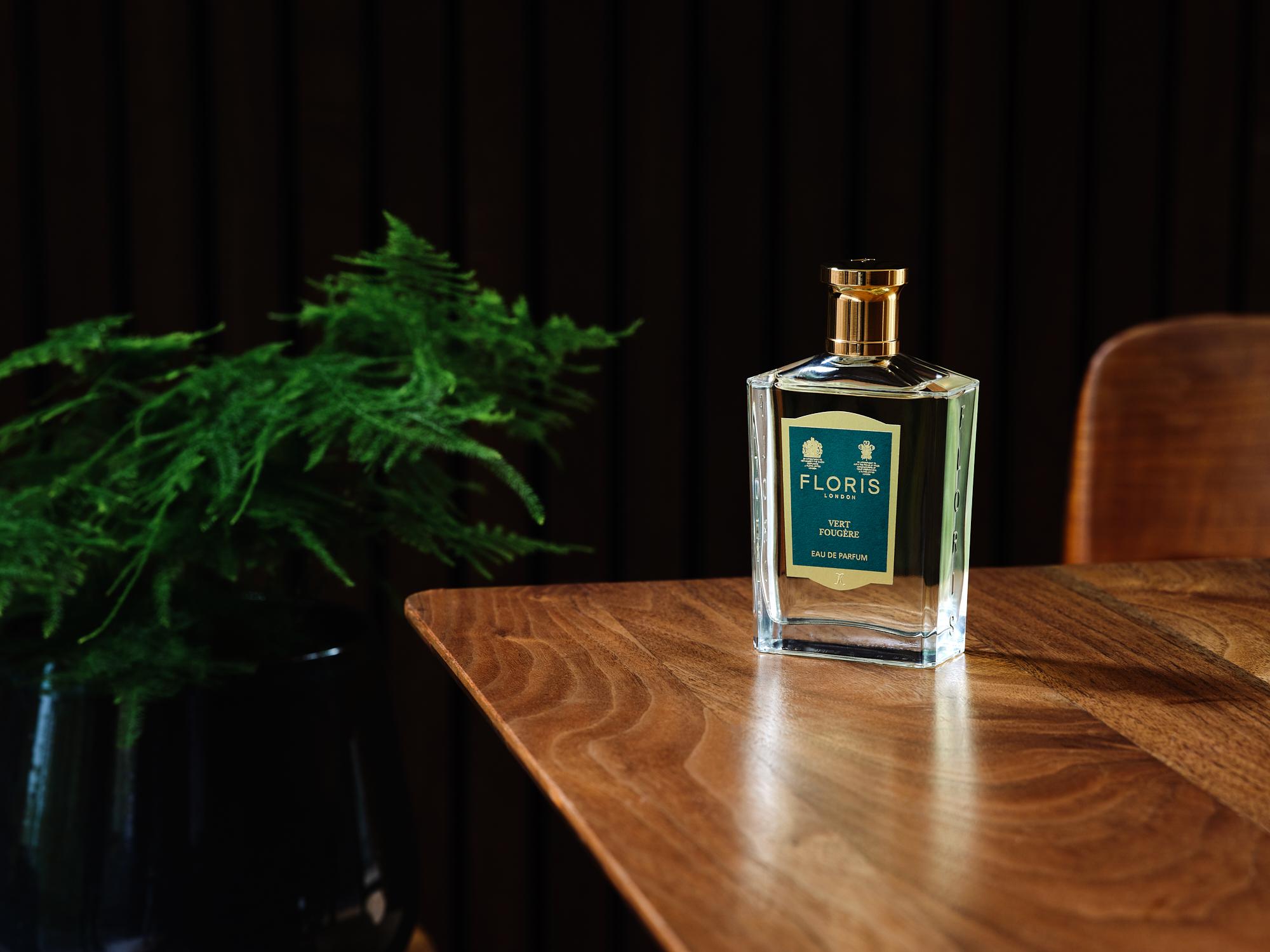 nước hoa mùa thu - thương hiệu Floris London Vert Fougère - 2019 - elle man