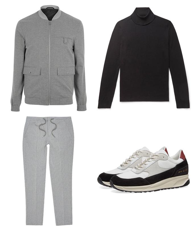 xu hướng thời trang - phong cách thể thao đồng bộ - thu đông - 2019 - elle man