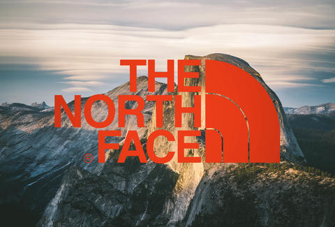 logo thương hiệu the north face