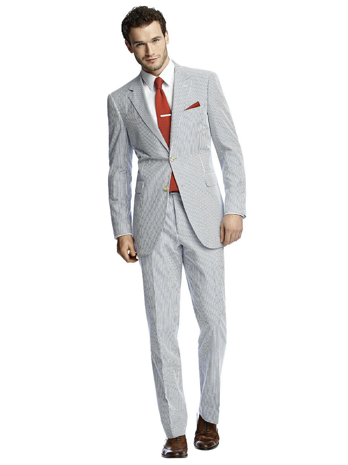 suit nam vải seersucker