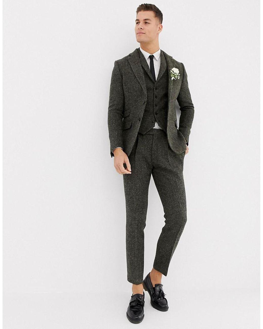 suit nam vải tweed