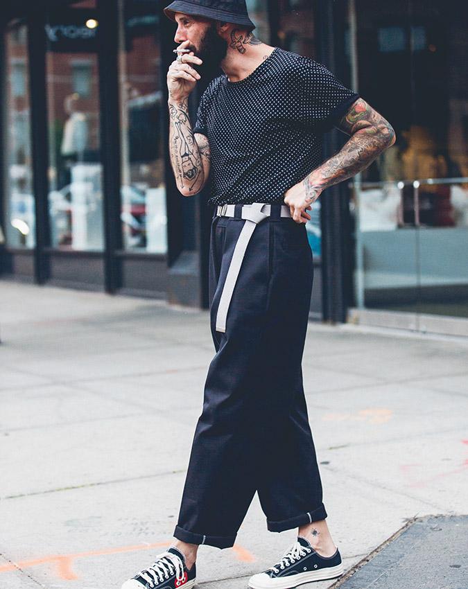 thế giới thời trang elle man NY