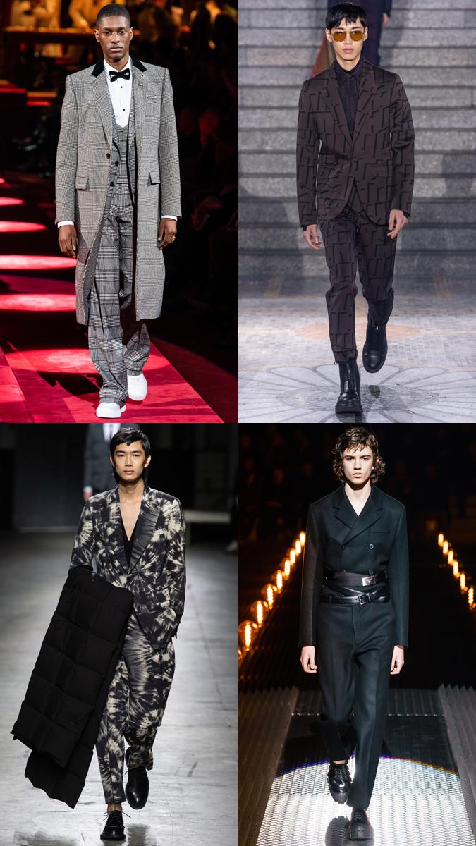 xu hướng thời trang - gam màu tối - nam giới - elle man