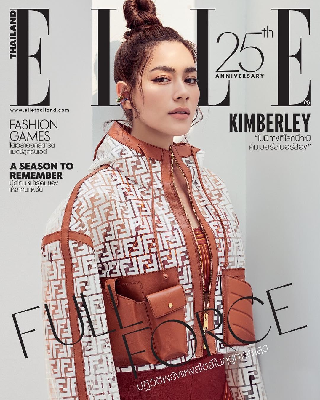 diễn viên thái- kim trên bìa tạp chí elle thailand