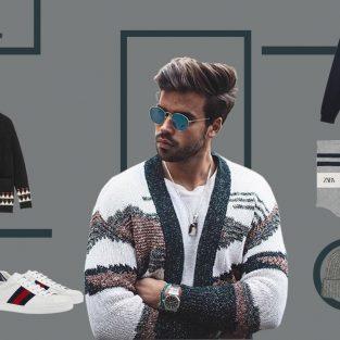 ELLE Man Style Calendar: Chinh phục mùa lạnh với áo cardigan